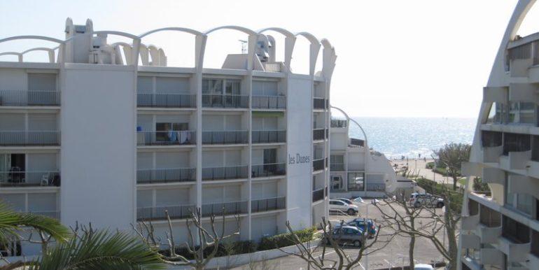 Vente appartement la grande motte  Accès  direct Plage du Couchant